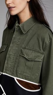 Harvey Faircloth Vintage Cropped Drab Jacket