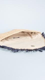 Hat Attack Sunshine Straw Clutch