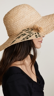 Hat Attack Painted Palm Sunhat