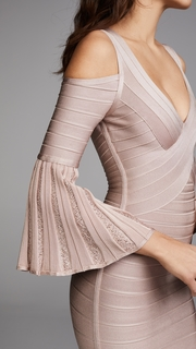 Herve Leger Autumn Dress