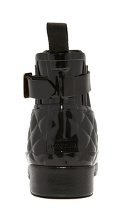 Hunter Boots Refined Quilted Chelsea Booties