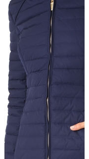 Hunter Boots Original Fitted Down Coat