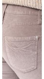 James Jeans Velveteen Mid Rise Legging Jeans