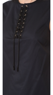Jason Wu Lace Up Shirt
