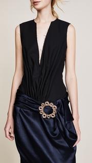 Jacquemus V Neck Dress