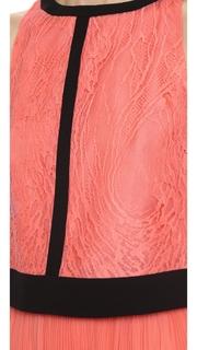 J. Mendel Lace Crop Top