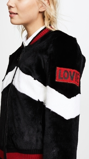 Jocelyn Rabbit Baseball Jacket