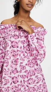 Jourden Flora Off Shoulder Dress