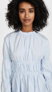 Jourden Blue Cotton Top