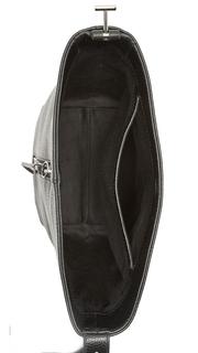 KARA Pebble Leather Panel Bucket Bag