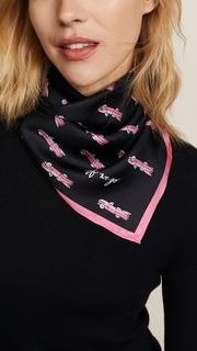 Kate Spade New York Hot Rod Silk Bandana