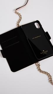 Kate Spade New York Folio Cross Body iPhone X Case