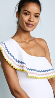 Karla Colletto Zola One Shoulder Maillot