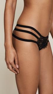 Les Coquines Gigi Eyelash Cheeky Panties with Straps
