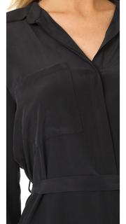 LAGENCE Stella Short Shirtdress