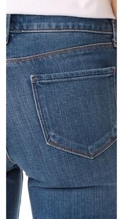 LAGENCE Sophia High Rise Crop Jeans