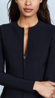 Lisa Marie Fernandez Farrah Long Black Neoprene Maillot