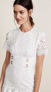 Lover Flora Mini Flip Dress