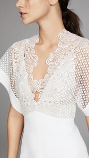 Lover Camelia Bonded Mini Dress