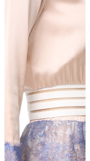 Loyd/Ford Crop Pullover with Lace