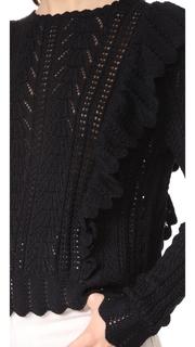 LOVESHACKFANCY Ruffle Pullover