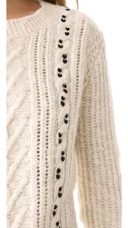 Scotch & Soda/Maison Scotch Crew Neck Cable Knit Sweater