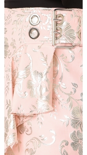 Marques Almeida Brocade Wrap Skirt