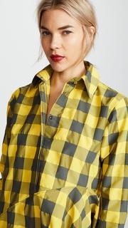 Marques Almeida Asymmetrical Shirtdress