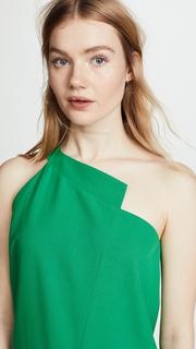 Michelle Mason One Shoulder Dress