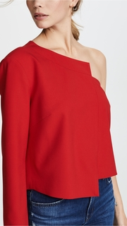 Michelle Mason One Sleeve Top
