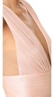 Maria Lucia Hohan Aurora High Slit Dress