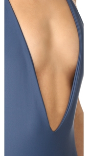 MIKOH Africa Low Cut Swimsuit