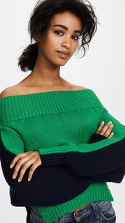 Monse Upside Down Cropped Knit