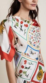 Monse Patchwork Dress