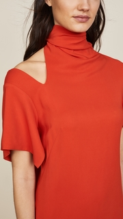 Monse Bow Collar Dress