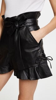 Marissa Webb Tina Leather Shorts