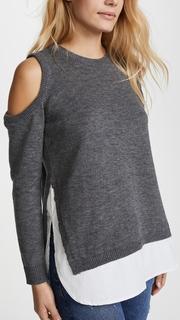 re:named Cold Shoulder Sweater