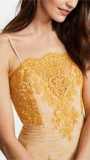 Nicholas Octavia Lace Scallop Mini Dress