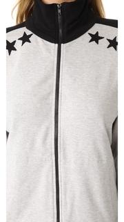 Norma Kamali Side Stripe Jacket With Stars