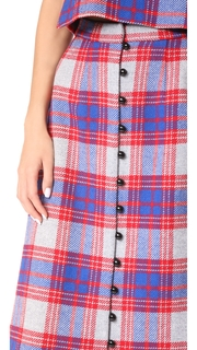 Novis The Somerset Button Front Skirt