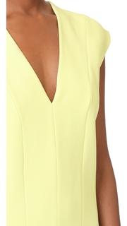 Narciso Rodriguez V Neck Dress