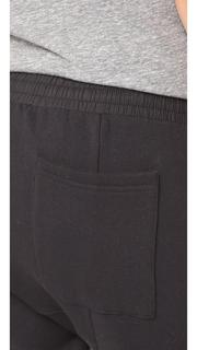 Oak Cropped Karate Sweatpants
