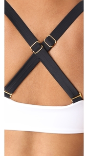 PilyQ Tux Sporty Bikini Top