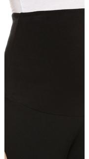 Plush Fleece Lined Maternity Leggings
