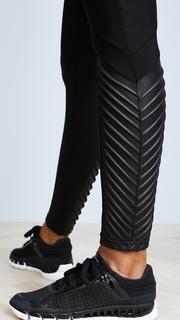 Plush Fleece Lined Athletic Ankle Moto Leggings