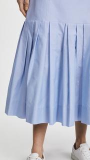 Protagonist Pleated Hem Skirt
