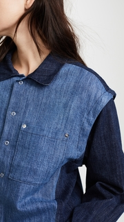 Public School Quasay Denim Shirt