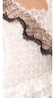 Rodarte Ruffled Lace Dress