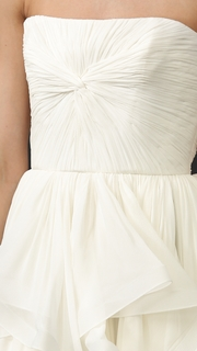 Reem Acra Lilac Gown