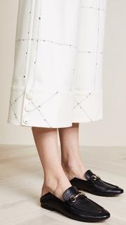 Rossella Jardini Wide Leg Checked Pants